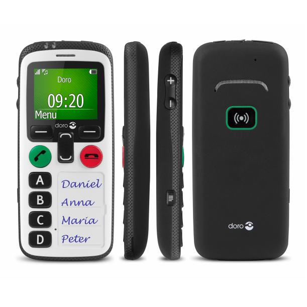 Téléphones portables simplifiés avec bouton d'alerte