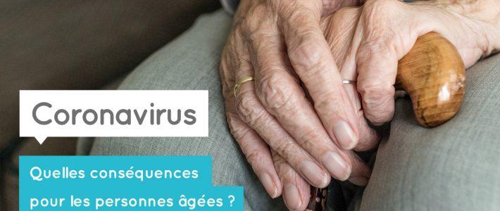 Coronavirus : quelles conséquences pour les personnes âgées ?