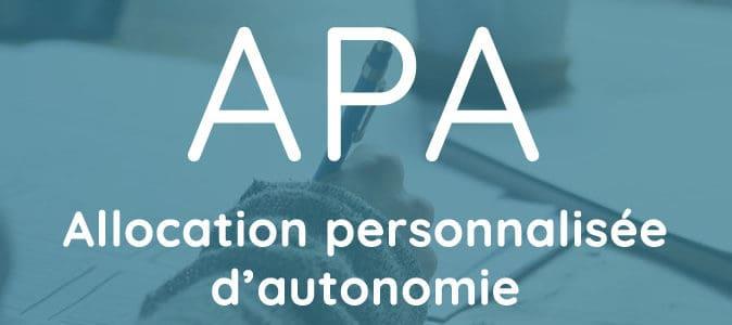 Comment faire une demande d'APA ?
