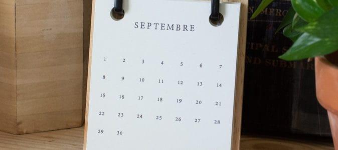 4 calendriers pour personne âgée
